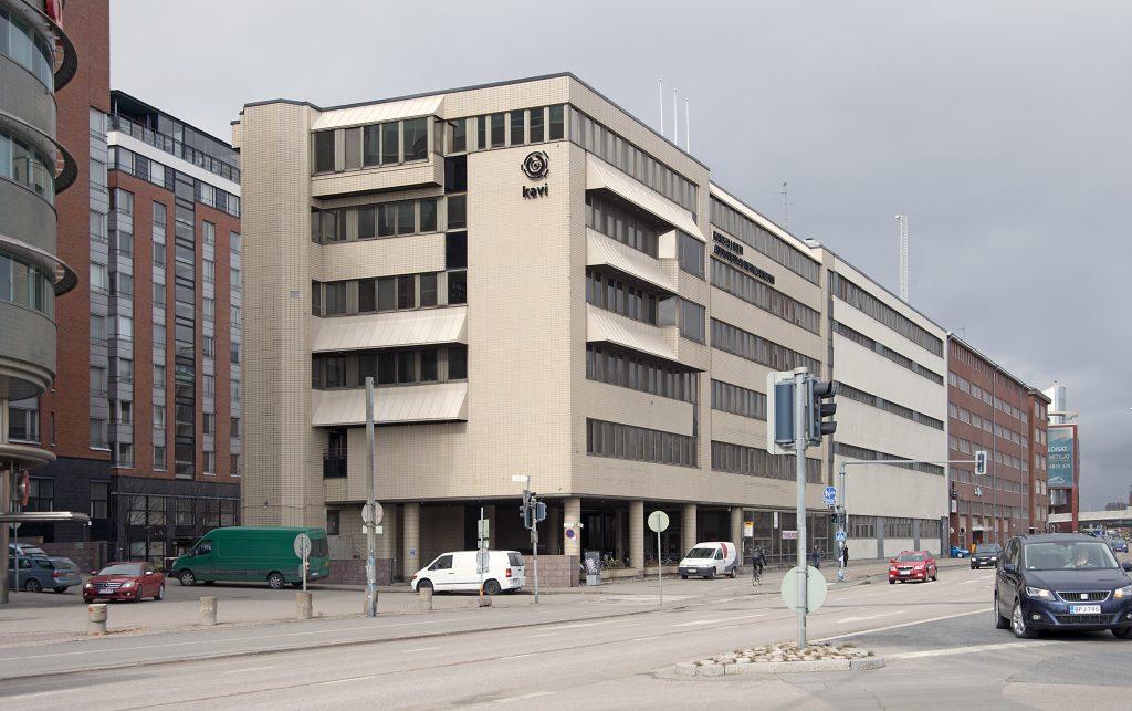 Kansallinen audiovisuaalinen instituutti Sörnäisissä.