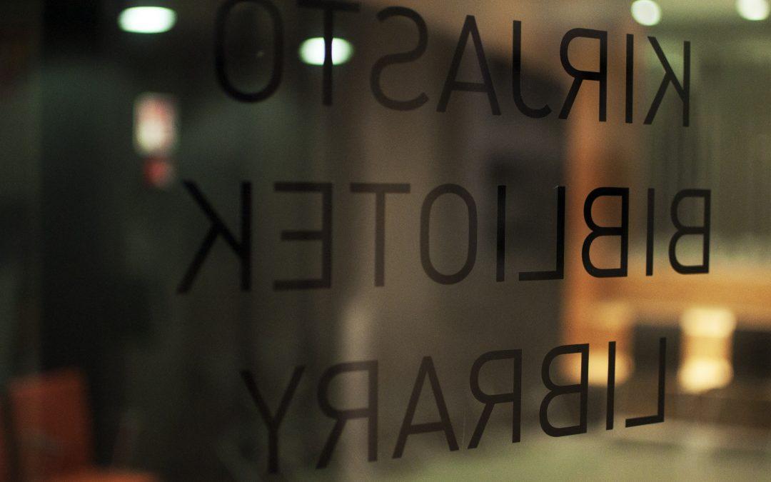 Kirjasto laajentaa palveluitaan 1.10. alkaen